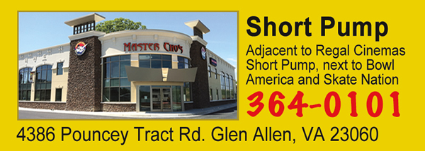 Master Cho's Tae Kwon Do and Martial Arts Centers, our Short Pump location