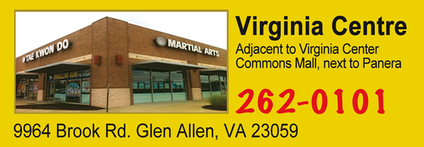 Master Cho's Tae Kwon Do and Martial Arts Centers, our Virginia Centre location